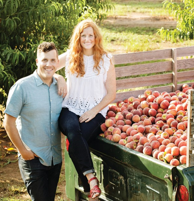 Cover art for Episode 4: The Peach Truck, Stephen and Jessica Rose