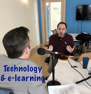 Cover art for Education, technology, and the amazing world of e-learning