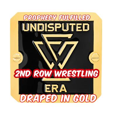 Cover art for 2nd Row Wrestling - Episode 7 - Draped in GOLD