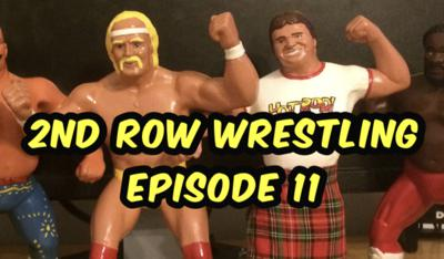 Cover art for 2nd Row Wrestling - Episode 11 - A Game of Firsts
