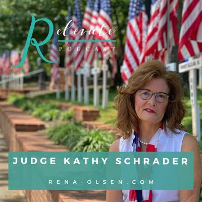 Cover art for Overcomer with Judge Kathy Schrader
