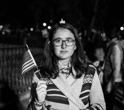 Cover art for Episode 2.11: Four Years of Trump Protest Photos
