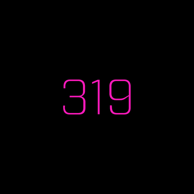 Cover art for 319