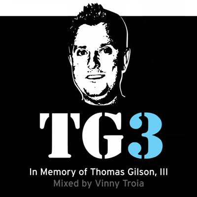 Cover art for TG3 – Mixed in memory of Thomas Gilson, III