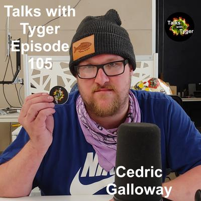 Cover art for 105: Don't Listen To This Episode // Cedric Galloway