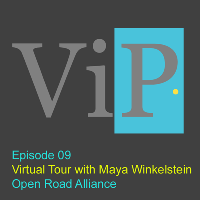 Cover art for A Virtual Tour with Maya Winkelstein