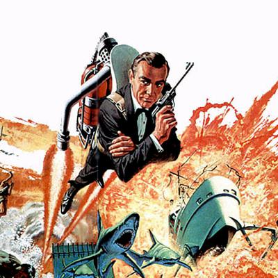 Cover art for Episode 64 : 007 - Thunderball (1965) Review & Discussion