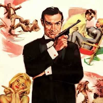 Cover art for Episode 59 : 007 - Goldfinger (1964) Review & Discussion