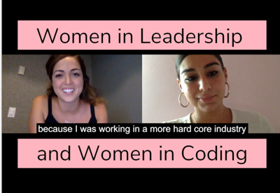 Cover art for Episode 3 - Women in Leadership & Coding