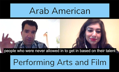 Cover art for Episode 5 - Arab American Performing Arts and Film