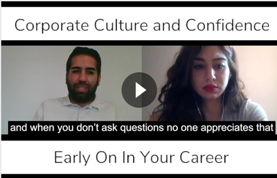 Cover art for Corporate Culture and Confidence Early On In Your Career