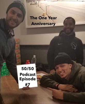 Cover art for Episode #7 Year One Anniversary