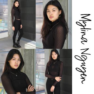 Cover art for Mylina Nguyen-From an immigrant family, modeling becomes determination-Ep 002