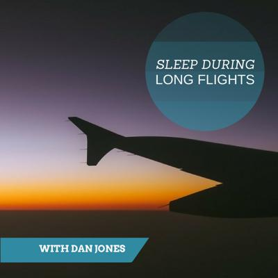 Cover art for Sleep During Long Flights (Self Hypnosis)