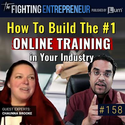 Cover art for [VIDEO BONUS] How To Build An ONLINE TRAINING That Becomes The #1 In Your Industry... - Feat. Chaunna Brooke