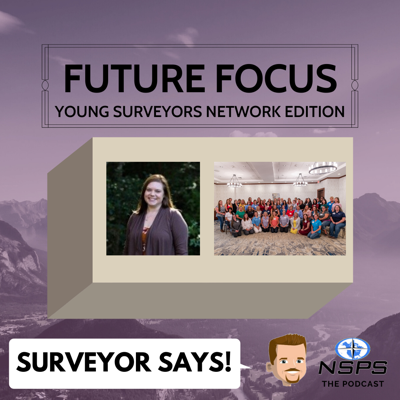 Cover art for Episode 21 - Today's discussion is with Anna Rios, RPLS and organizer of the Women's Surveyor Summit.