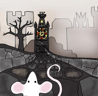 Cover art for The Very Unimportant Mouse