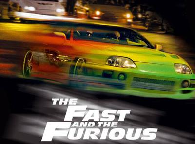 Cover art for The Fast and The Furious