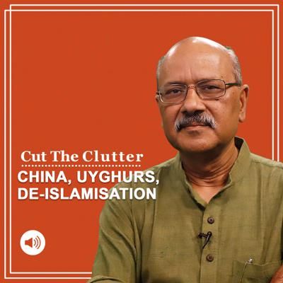 Cover art for Cut The Clutter: What are the Xinjiang and Uighur issues & new evidence of China's massive de-Islamisation