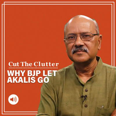 Cover art for Cut The Clutter: Why Akalis leaving NDA is a big shift in politics & Jaswant Singh, the last liberal conservative | EP 578