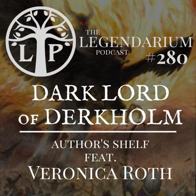 Cover art for #280. Dark Lord of Derkholm - The Author's Shelf, feat. Veronica Roth