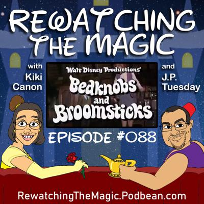 Cover art for RTM 088 - Bedknobs and Broomsticks (1971)