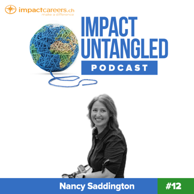 Cover art for Episode 12: Nancy Saddington - Swiss Plastic-free period products with Organic Mondays