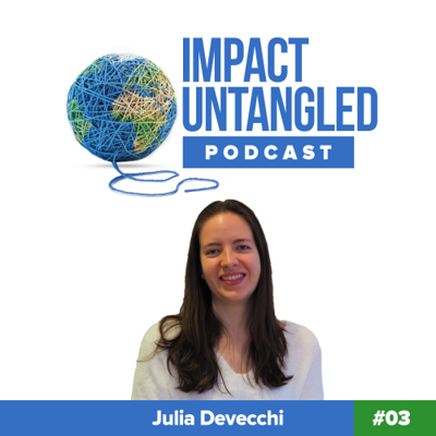 Cover art for Episode 03: Julia Devecchi - The Story of Happy Bites and Founding a Vegan Food Start-up at 24