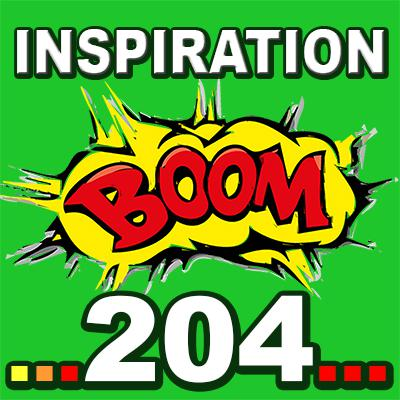 Cover art for Inspiration BOOM! 204: THERE IS ALWAYS SOMETHING TO BE GRATEFUL FOR