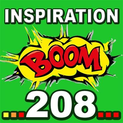Cover art for Inspiration BOOM! 208: YOU CAN NEVER FAIL YOURSELF