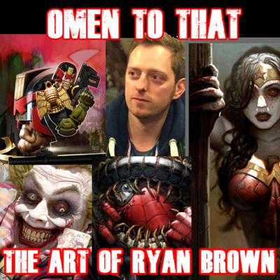 Cover art for OMEN TO THAT - The Art of Ryan Brown