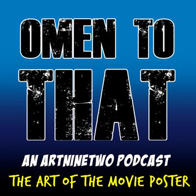 Cover art for OMEN TO THAT - The Art of the Movie Poster