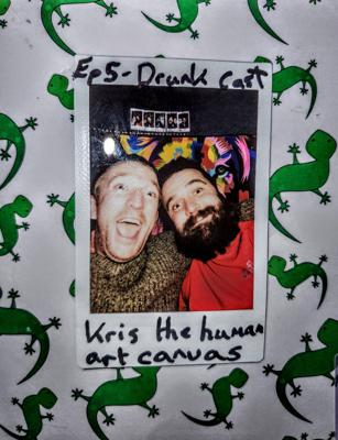 Cover art for Ep 5 - Bourbon fuelled drunk cast with Kris, milking rats is but one of the tangents we go on, enjoy the magical waffling journey!