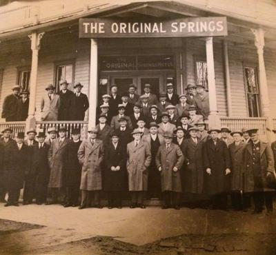 Cover art for Episode 28: The Original Springs Hotel and Hauntings
