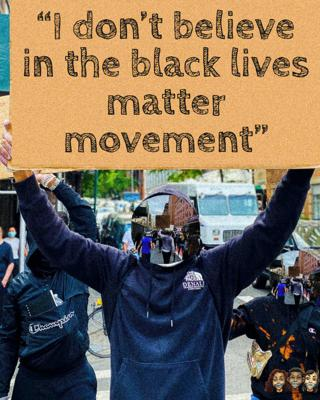 Cover art for I DON'T BELIEVE IN THE BLACK LIVES MATTER MOVEMENT(BCD PART 1/3)