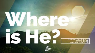 Cover art for Where is He?