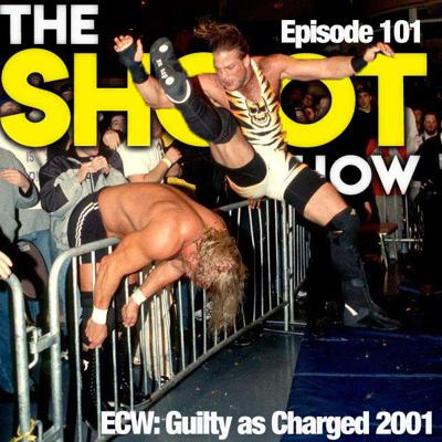 Cover art for Episode 101 - ECW Guilty as Charged 2001