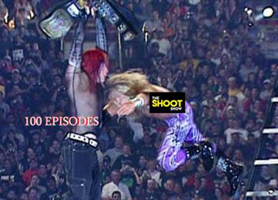 Cover art for Episode 100 Wrestlemania 17