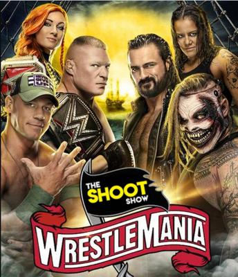 Cover art for Episode 98 Wrestlemania 36