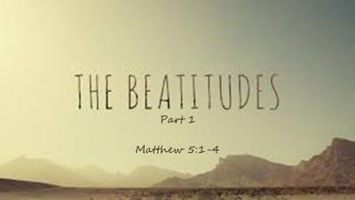 Cover art for The Beatitudes - Part 1