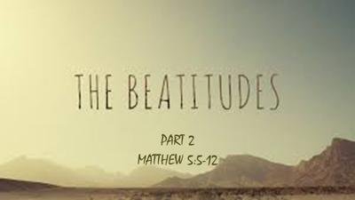Cover art for The Beatitudes - Part 2