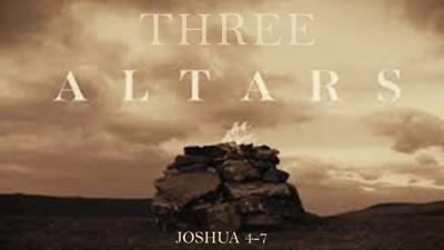Cover art for Three Altars