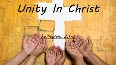 Cover art for Unity In Christ