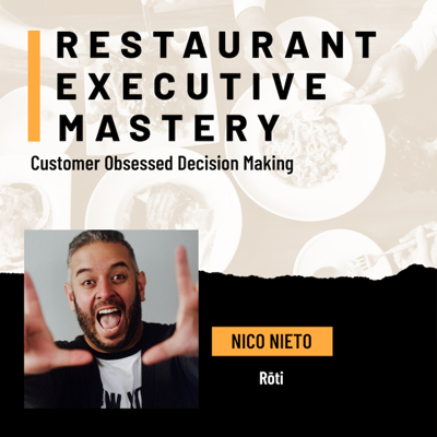 Cover art for Customer Obsessed Decision Making - Nico Nieto