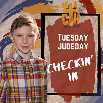 Cover art for Tuesday Judeday Checkin' In