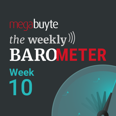 Cover art for Megabuyte Barometer – COVID-19 – Week 10 update