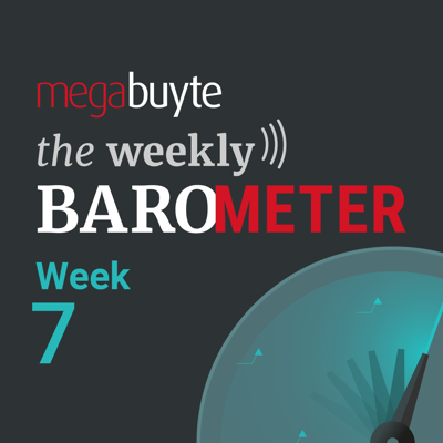 Cover art for Megabuyte Barometer – COVID-19 – Week 7 update