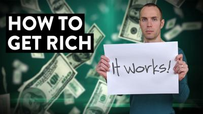 Cover art for How to Get Rich in the Stock Market (Here's My Strategy...)