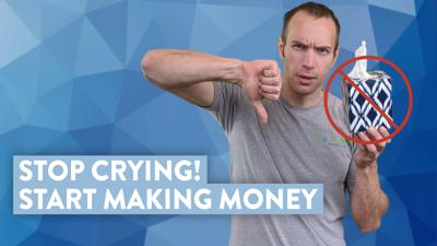 Cover art for Stop Crying! Start Making Money (How to Day Trade Stocks)