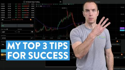 Cover art for How to Practice Trading: My Top 3 Tips For Success